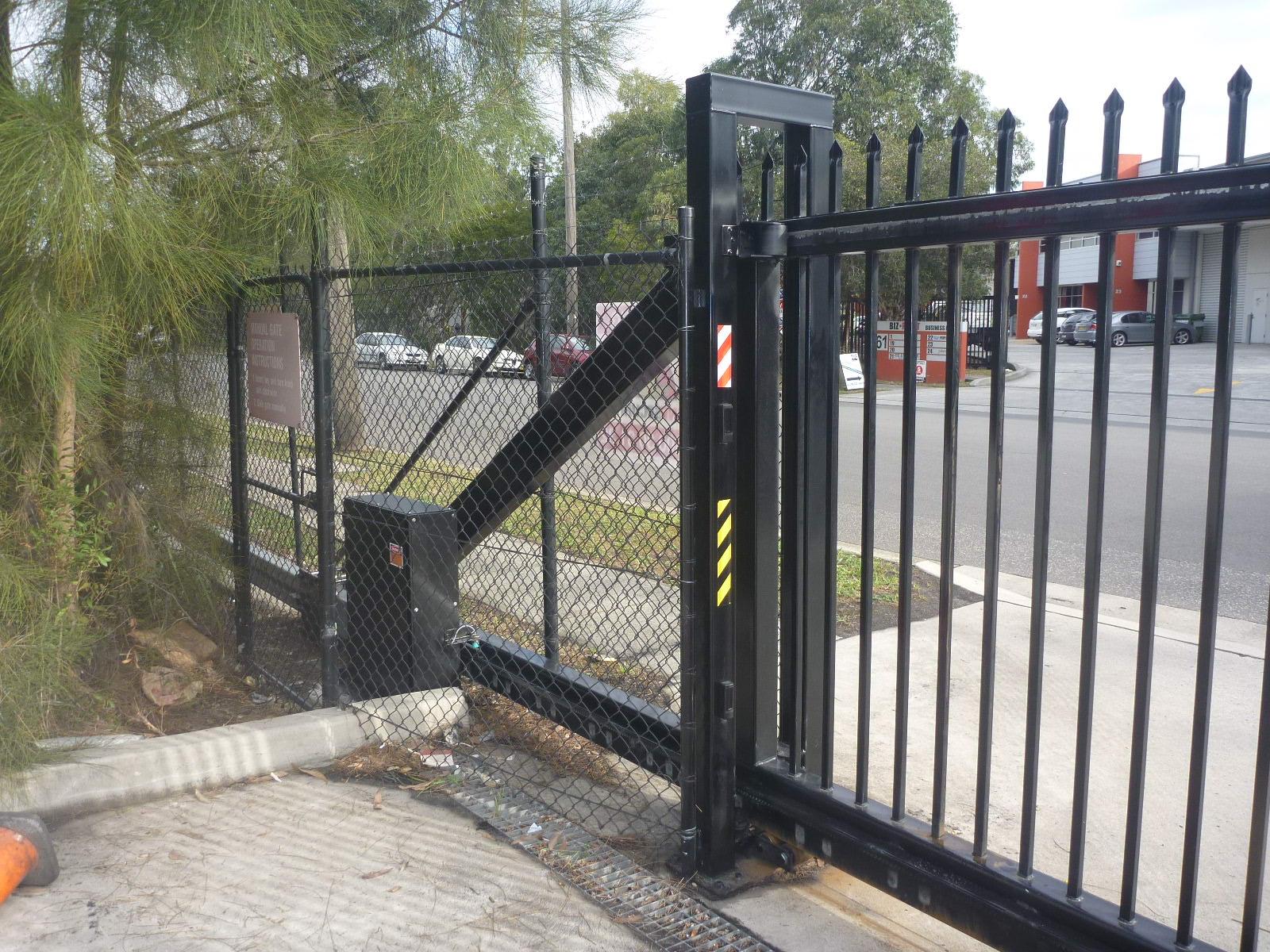 Ground Mount Industrial Sliding Gate Motor